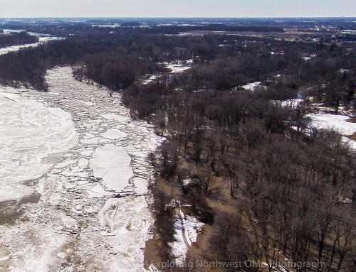 The Ice Jam Flooding Side Cut Metropark